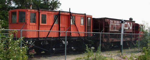 worktrain-at-flin-flon-station-museum
